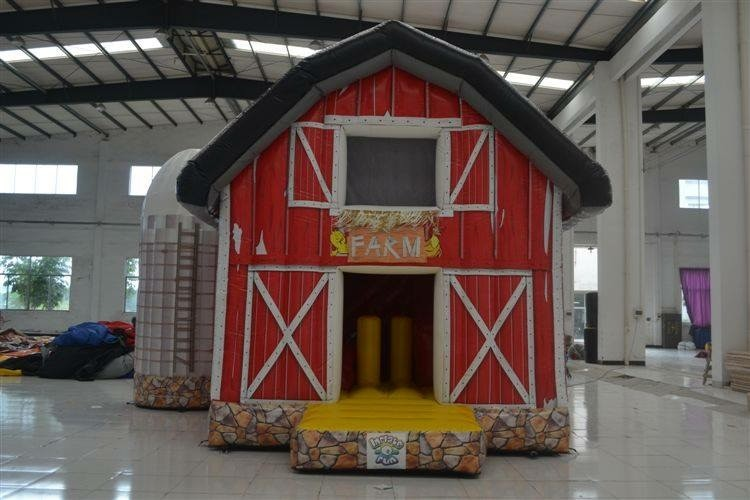 Combo #2 Big Red Barn Image
