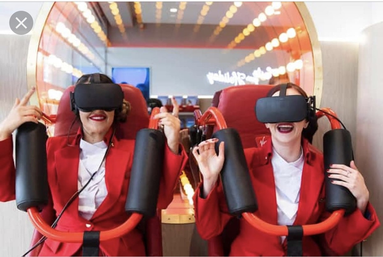 VR Roller Coaster Experience Image