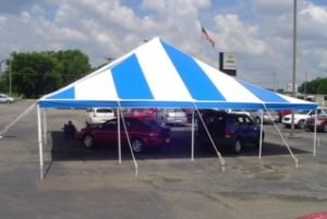 Tents for business function Image