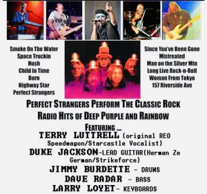Perfect Strangers A Tribute to Deep Purple & Rainbow ( May 22nd 2021 ) Image