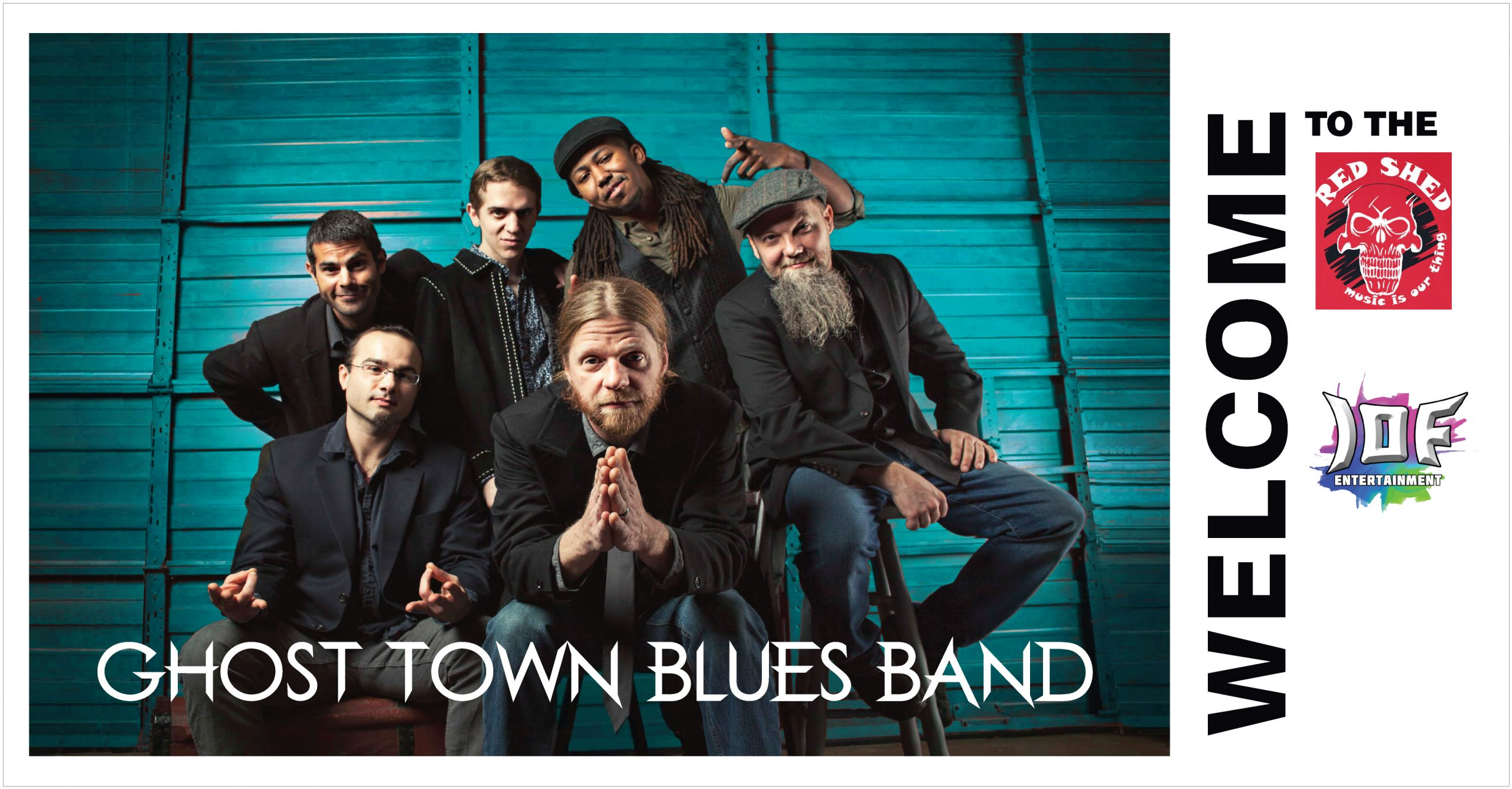 Ghost Town Blues Band ( Aug 21st 2021 ) Image